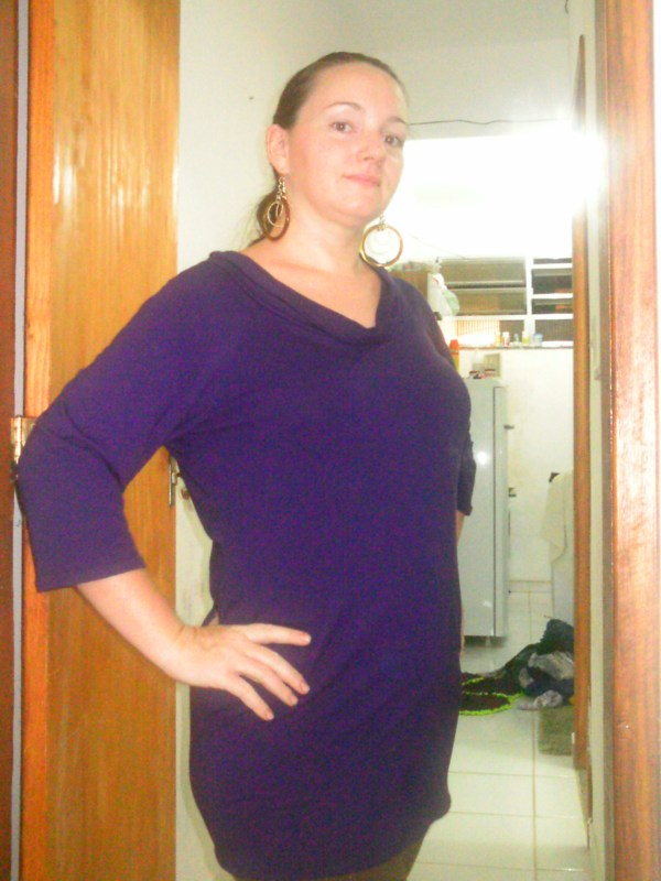 purple tunic front